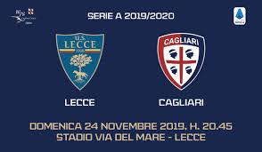 Live - Segui la diretta di Lecce-Cagliari Calcio d'inizio ...