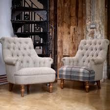 Pickering Armchair PKG140 - Moon Fabrics - Wood Bros