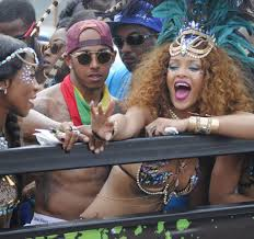 lewis hamilton and rihanna. Unique And Rihanna And Lewis Hamilton Are Pictured Partying During Barbadosu0027 Kadooment  Day Parade For And A