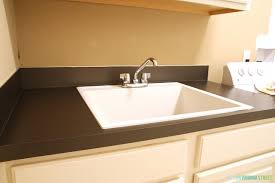 want to know how to spray paint countertops it s so easy and looks amazing