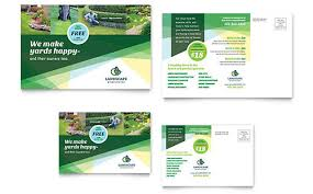 Sample Flyers For Landscaping Business Microsoft Office Templates Gardening Lawn Care Layoutready