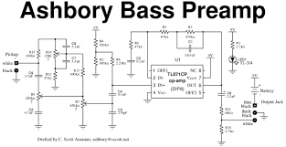 schematic ashbory bass ashbory bass schematic diagram