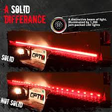 REDLINE TRIPLE LED TAILGATE BRAKE LIGHT BAR WITH REVERSE & SEQUENTIAL