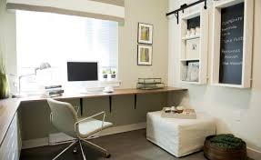 Minimalist Office Computer Desk Design