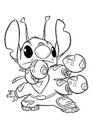 Stitch Coloring Pages At Getdrawingscom Free For Personal Use