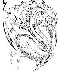 Chinese Dragon Coloring Pages Flying Dragon Coloring Pages At Dragon
