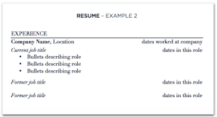 what to title your resume updating your resume with multiple jobs at one company the prepary