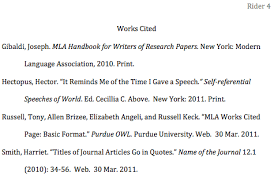 how to format the works cited page in mla style jerz s literacy published 29 2011 at 475 atilde151 319 in mla