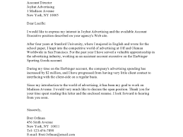 Job Cover Letter Sample For Resume Staggering Free Examples Every