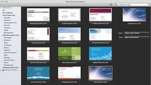 Microsoft Business Cards Templates Microsoft Office Business Card Templates 751