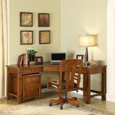 Computer Desk Home Riverside Craftsman Home Corner Desk Hayneedle