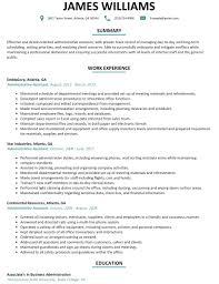University Administrative Assistant Resume Sample Inspirationa
