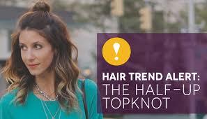 half top knot. half top knot o