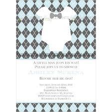 Bowtie Baby Printable Little Man Shower Invite