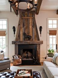 rustic design remodel stone fireplace ideas with wood burning