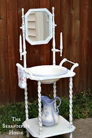 victorian wash stand with pitcher and basin description from com i searched