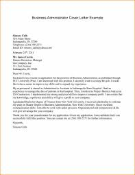 Examples Of A Business Letter Cover Letter Samples Cover Letter