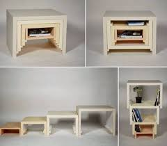 multifunctional furniture for small spaces. stacking nesting table multifunctional furniture ideas source for small living room spaces o