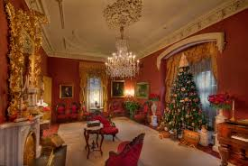 Victorian Era Decor Almost The Night Before Christmas At Morris Butler House December