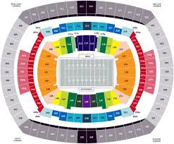 Ny Giants Seating Chart With Rows Seat Row Your Source For The Best Seating Information