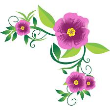 best fl flower corner design png