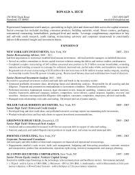 quantitative analyst resume