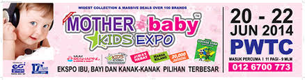 Small Picture 20 22 Jun 2014 Malaysia Mother Baby Kids Expo at PWTC Kuala