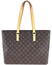 louis vuitton zipper bag. louis vuitton #11338 monogram luco large open top zipper tote work shoulder bag t