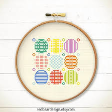 Modern Cross Stitch Patterns Cool Modern Cross Stitch Pattern PDF Do From Redbeardesign On Etsy