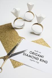 diamond ring napkin ring
