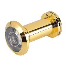 Security Door Eye Hole Peephole Viewer 200° Adjustable Glass Lens ...