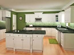 kitchens with white cabinets and green walls. White Cabinets Green Walls Kitchens With And