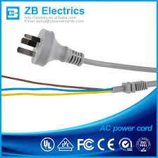 3 round pin power cord suppliers and