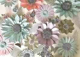 giant flowers diy paper flower wall decor decorations lovely lavender c aquamarine
