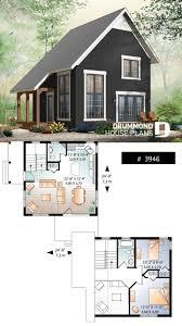 Cottage Design Plans 2 Bedroom Transitional Style Cottage Design With Mezzanine