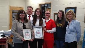 morrisville high school junior gets community help in defining her on friday 24 2017 high school junior paisley murray at morrisville high school received the first service scholarship in the