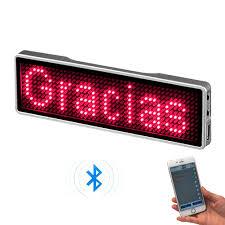 <b>LED Luminous</b> Mask Mobile Phone APP <b>Edit</b> Pattern Text Bungee ...