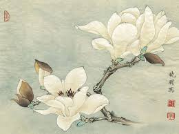 chinese white magnolia flower scenery oil painting canvas printings printed on canvas home wall art decoration on white magnolia wall art with chinese white magnolia flower scenery oil painting canvas printings