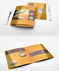 Restaurant Brochure Designs To Revitalize Your Business