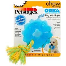 «<b>Petstages Игрушка для собак</b> Mini орка кольцо с канатом ...