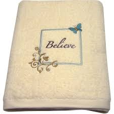 Decorative Bathroom Towel Sets Mainstays Butterfly Blessing Decorative Bath Towel Collection