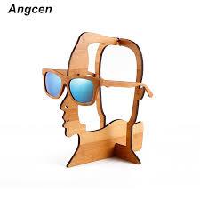 diy logo wooden glasses show shelf display rack display women sunglasses eyewear frames reading glasses prescription