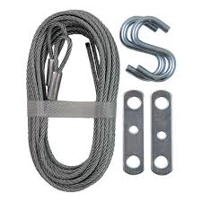 IDEAL Security 12 ft. Garage Door Extension Cable (2-Pack)-SK7112 ...