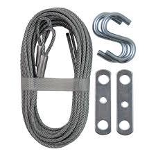 ideal garage door partsIDEAL Security 12 ft Garage Door Extension Cable 2PackSK7112