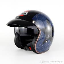 new retro vintage motorcycle helmet moto helmet motorbike bobber