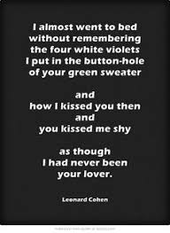 Leonard Cohen Beautiful Losers Quotes Best Of 24 Best Dance Me To The End Of Love Leonard Cohen Lyrics Images On
