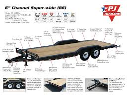 15 best dump trailers images on pinterest dump trailers, utility Pj Trailer Wiring Diagram pj trailers 6\