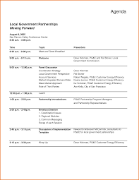 sample agenda meeting agenda sample doc complete guide example