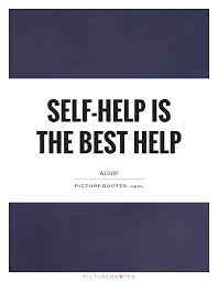 Self Help Quotes Selfhelp is the best help Picture Quotes 76