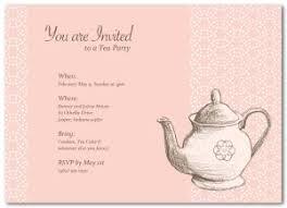 Tea Invitations Printable Printable Teapot Invitation Template